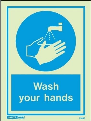 Hygiene and PPE signs